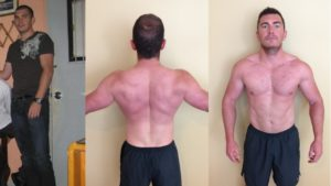 I followed dozens of different programs over my life. But I really started to see results - quickly - when I started following what Nate said. He created his program for me, my life, and my unique situation, and you know what? IT WORKED. -Elliot E. Age 31.  Gained 21lbs and Lost 6% BF