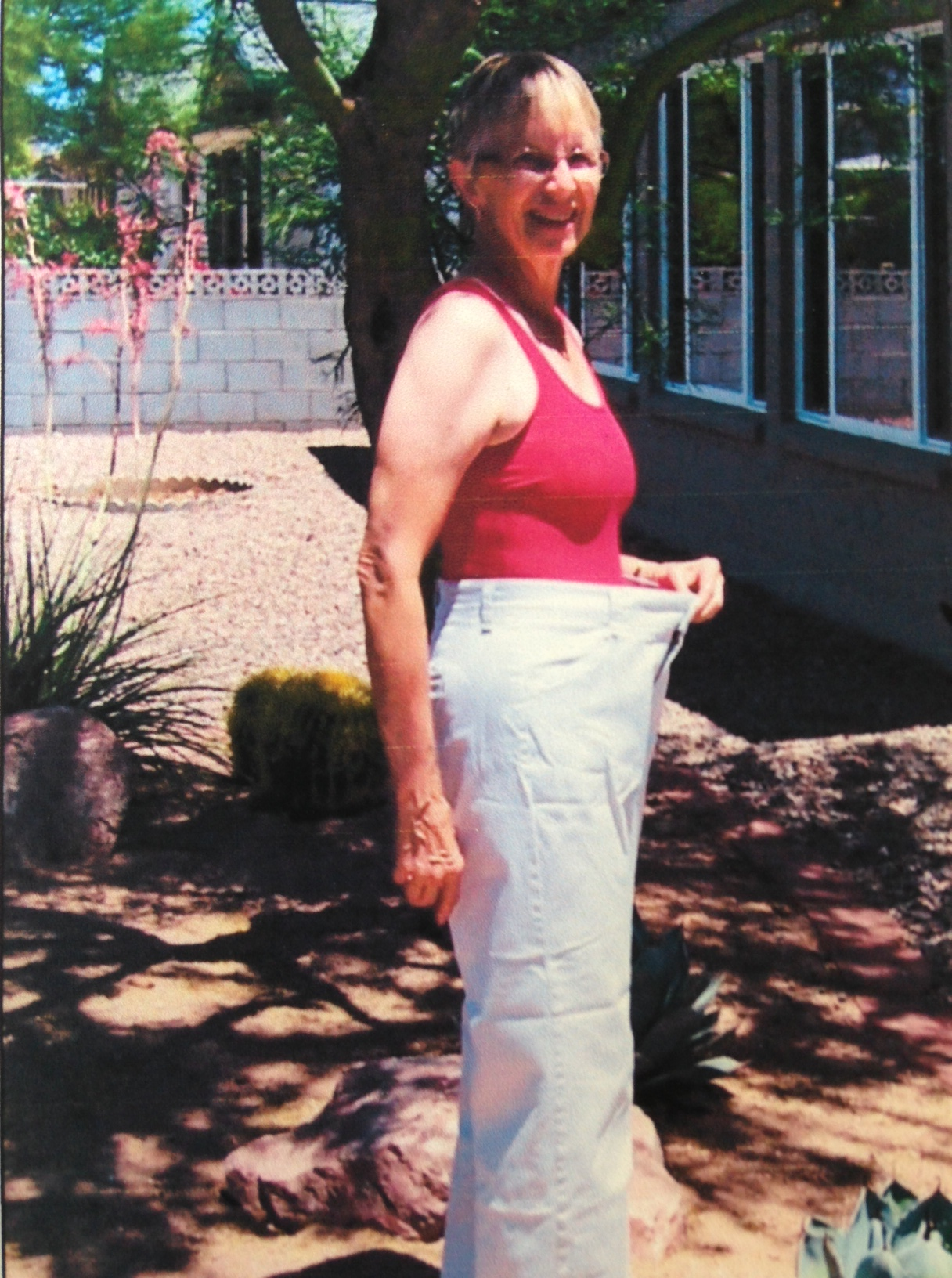 """""""I am thrilled at the results of Nate's coaching, and I love my new active lifestyle."""" -Sharon I. Age 68. Lost 37lbs."""