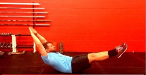 hollow body for abs