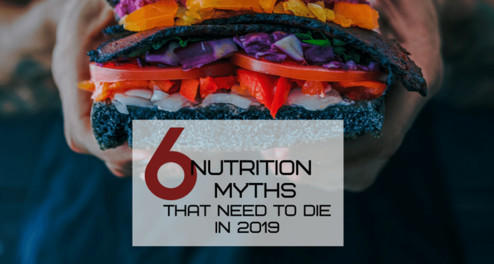 nutrition myths that need to die