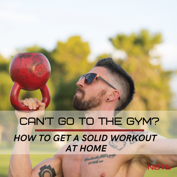 Can't go the gym? How to get a solid workout at home
