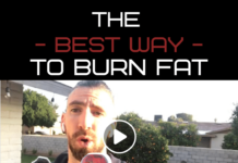 best way to burn body fat