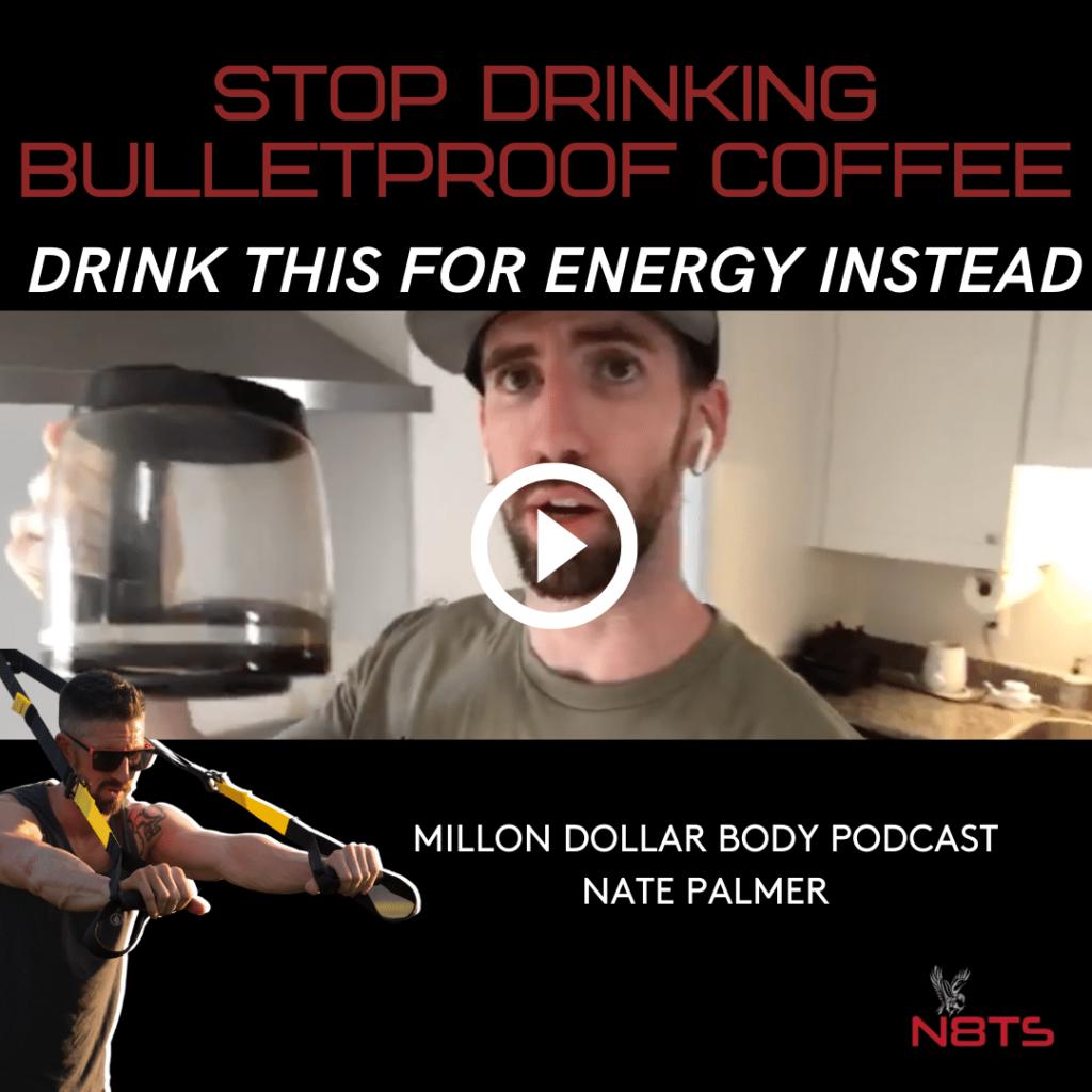 stop drinking bulletproof coffee