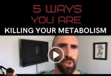 5 ways you are killing your metabolism