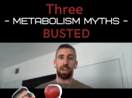 want to boost your metabolism? Stop believing these three myths.
