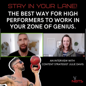 how to work in your zone of genius
