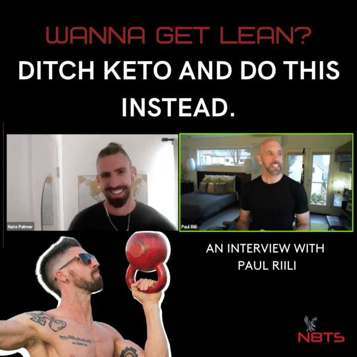stop Keto and fad diets to get lean