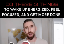 nutrition strategy to wake up energized, focused, and ready to get more done