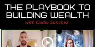 the playbook to building wealth according to Codie Sanchez