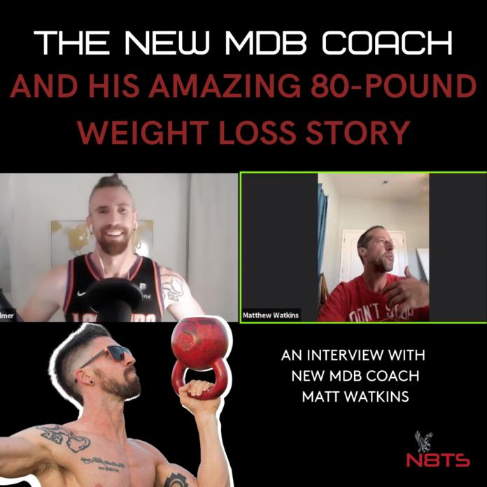 new mob coach Matt Watkins
