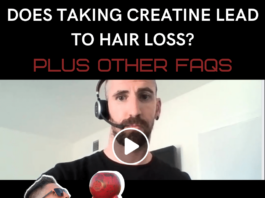 Does taking creatine lead to hair loss?