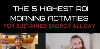 5 highest row morning activities for energy and fat loss