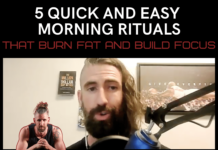 5 quick and easy morning rituals that burn fat and build focus